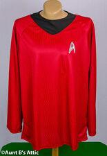 Star Trek Motion Picture Scotty Red & Black Uniform Costume Shirt