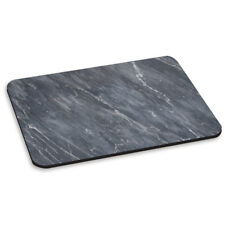 MARBLE DARK GREY VEINED PC COMPUTER MOUSE MAT PAD - Stone Effect Pattern