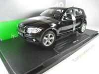 BMW 1 SERIES 2003 E87 - 120i - 1/18 WELLY (BLACK)
