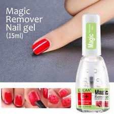 15ML LULAA Nail Polish Burst Magic Gel Nail Polish Remover Soak Off Nail Cleaner