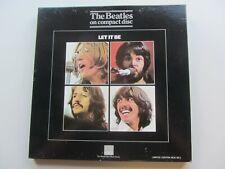BEATLES  LET IT BE   UK CD ALBUM BOX SET   BEACD25/8  HMV 1990