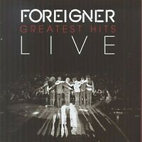 Foreigner - Greatest Hits Live [New CD] UK - Import