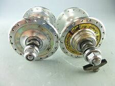 SUZUE PRO MAX NJS Track Hubs, 36H, Rear = 120mm, Chaintensioners