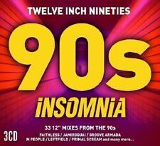 "INSOMNIA 12""  90'S/Faithless, Jamiroquai,Space, Sunscreem DIGIPAKPACK 3 CD NEUF"