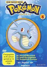 DIE WELT DER POKEMON Nr. 6   1. Staffel / Folgen 16-18    DVD #ZZ   Pokémon