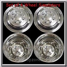 "Set 4 Wheel Liners Simulators 2015-2016 Dodge Ram Truck 3500 Dually 17"" Bolt On"