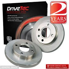 Honda Civic EM1 1.6i V-tec Vtec 158 Drivetec Rear Brake Discs 239mm Solid