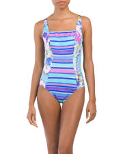Gottex Samosir Square Neck One Piece Swimsuit, size 14  $182