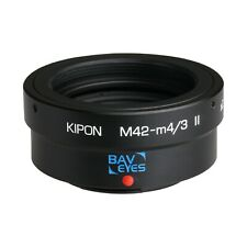 Kipon Focal Reducer Adapter Speedbooster for M42 to Micro Four Thirds M4/3 MFT