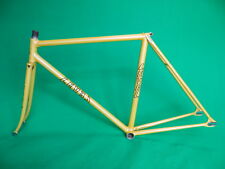 Level Yellow NJS Keirin Frame Track Bike Fixed Gear Pista