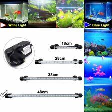 More details for blue/white rgb led aquarium fish tank light submersible waterproof tube bar lamp