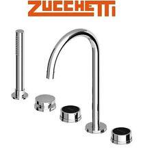 Zucchetti Savoir ZSA483.CN 5-Hole Bath Mixer w/Pull-Out Handshower & S.hose NIB