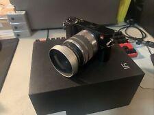 Yi M1 Mirrorless 20.1MP Camera With Panasonic H-FS1442A & Lens Hood
