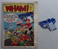 Wham comic #1 - 20 Jun 1964 + FREE GIFT GUN - RARE GD Unused (phil-comics)