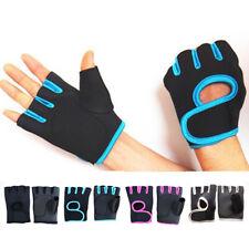 Women Men Half Finger Exercise Gym Gloves Sports Lifting Fitness Protector Hand