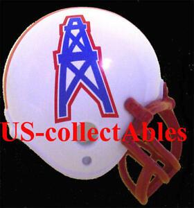 NFL Houston Oilers Football Rare Vintage Replica Helmet Keychain Collectible NEW