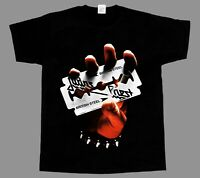 JUDAS PRIEST BRITISH STEEL 1980 BLACK NEW T-SHIRT