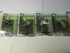The Matrix Set Of 4 Trinty Mr.Anderson Tank Sentinel Ntoys 2000 MIP