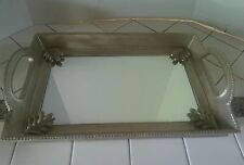 Highgate Manor Decorative Mirrored Vanity Tray (CANDLE HOLDER)
