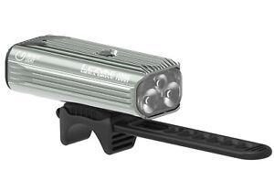 Lezyne Mega Drive 1800I LED Front Headlight Bicycle Light Grey 1800 Lumen
