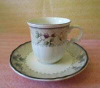 🦋 VINTAGE MIKASA Country Classics 🫐 Harvest Classic Tea Coffee CUP & Saucer 🦋