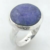 925 Sterling Silver Lapis Lazuli Handmade Ring Jewelry - ANY SIZE