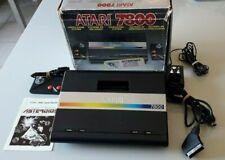 Console ATARI 7800 testée en boîte avec jeu Asteroids intégré+1 manette(n°5047)