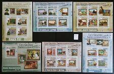 Briefmarken Stamps Kunst Gemälde Komoren 2009 postfrisch **_K1