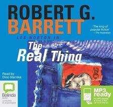 Robert G. BARRETT / The REAL THING          [ Audiobook ]