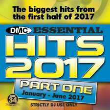DMC Essential Hits 2017 Part 1 Mid Year Chart Music DJ CD