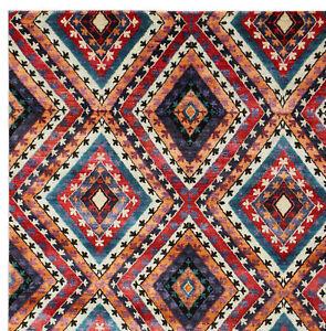 "Kajak Style 5'7"" x 7'10"" HandKnotted Parsian Oriental Bamboo Silk Area Rugs"