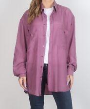 Silk Shirt 90's UK Men's L Women's 16 - 18 XL XXL Oversized 12 14 M L  (G1M)