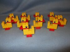 LEGO X 10 SERIOUS PLAY DUCKS