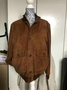 """Paul And Shark & Cp Suede Jacket Coat Blouson Company 22"""" P2p"""