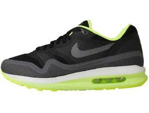 NIKE Air Max Lunar1 Sneaker Gr 36,5 black grey schwarz grau volt 654937 002 NEU