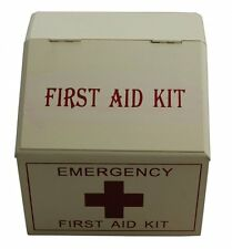 Shabby Chic Wooden First Aid Box - Small First Aid Box - Retro design