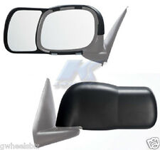 2002-2008 2009 DODGE RAM 1500 2500 3500 CLIP SNAP-ON TOW SIDE MIRROR EXTENSION
