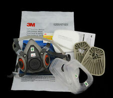 7 in 1  Mask Set  For 3M 6200 Gas Dust Spray Painting Protection Respirator