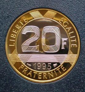 20 francs Mont Saint-Michel 1995 BE FDC année rare ! !