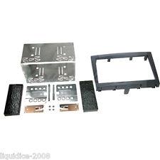 CT23PO04 PORSCHE BOXSTER 987 2009 to 2012 BLACK DOUBLE DIN FASCIA ADAPTER KIT