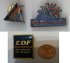 LOT x3 PINS PIN'S pub EDF AVIGNON ELECTRICITE DE FRANCE PORT GRATUIT EN FRANCE