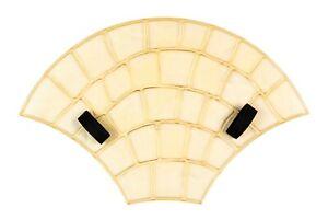 Polyurethane Rubber Imprint Concrete Mat Decorative Paving Stone European Fan