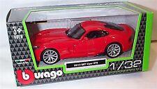 Dodge 2013 SRT Viper GTS in Red 1-32 Scale  New in box