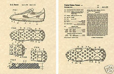 NIKE SHOE 1978 US Patent Art Print READY TO FRAME!! Sole Tennis Sneaker Cleat