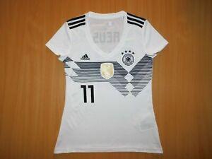 Deutschland GERMANY REUS 2018  Euro trikot shirt jersey soccer HOME WOMAN S