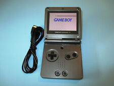 Nintendo Game Boy Advance SP Graphite Black System AGS-101 Brighter Screen Read