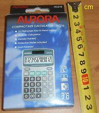 Handy Calculator HC218 Aurora new unused, solar