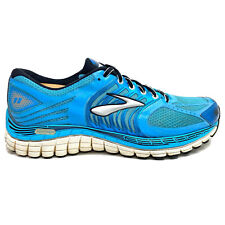 Brooks Glycerin 11 Men Size 10 B Running Shoes Blue Silver 1201371B560