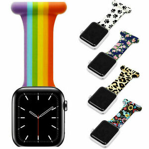 For Apple Watch Fob Clip-On Strap for Nurses Midwives Doctors Paramedics HCA's
