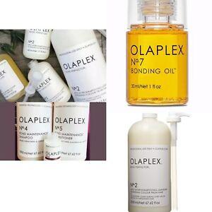 OLAPLEX SALON KIT STEP NO 1 & 2 &2 & BIG No. 2 X 2 & No. 4 & 5 2000ml & 6 & 7